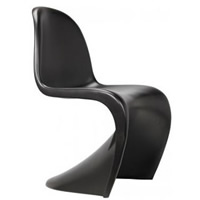 Black Panton Chair hire