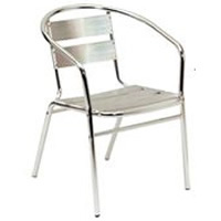 Alfresco aluminium Armchair hire