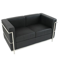 Corbusier 2 Seater Sofa hire