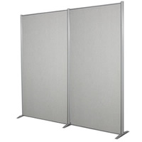 2M Freestanding Display Panel Hire hire