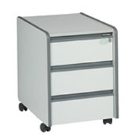 3-drawer pedestal (not lockable) hire