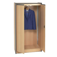 Lockable wardrobe hire