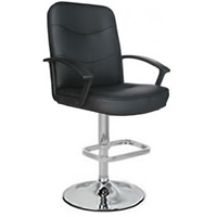 Jayden Leather Bar Stool hire