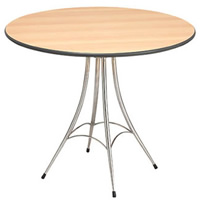 Maia 3' Round Table hire