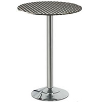 Stainless Steel Topped Bar Table hire