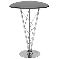 Aurora Triangular Poseur Bar Table hire