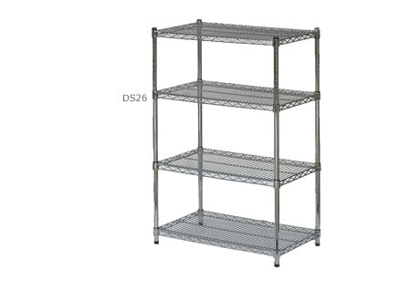 4-shelf display stand