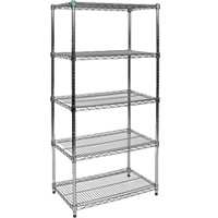 5-shelf display stand hire