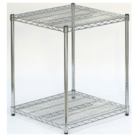 2-shelf cubic display hire